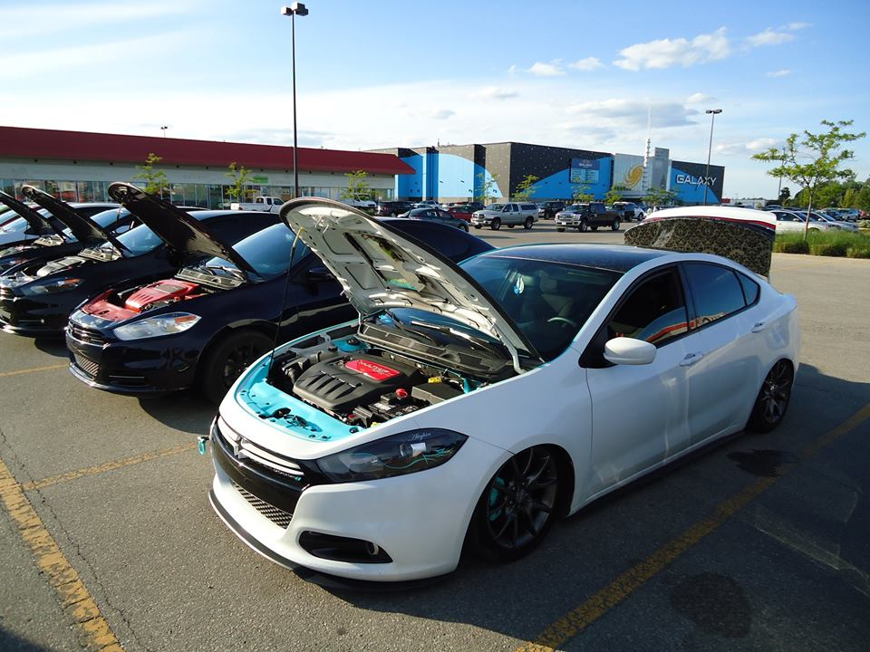Srt Dodge Dart >> Spotted, White slammed Dart in Barrie - Page 2
