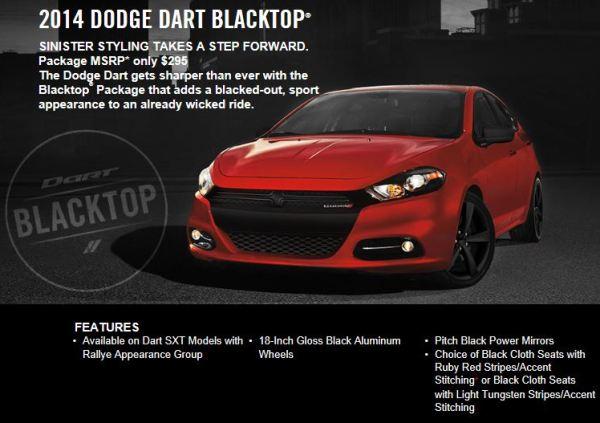 name 14 dodge dart blacktop from dodgecom websitejpg - 2014 Dodge Dart Blacktop