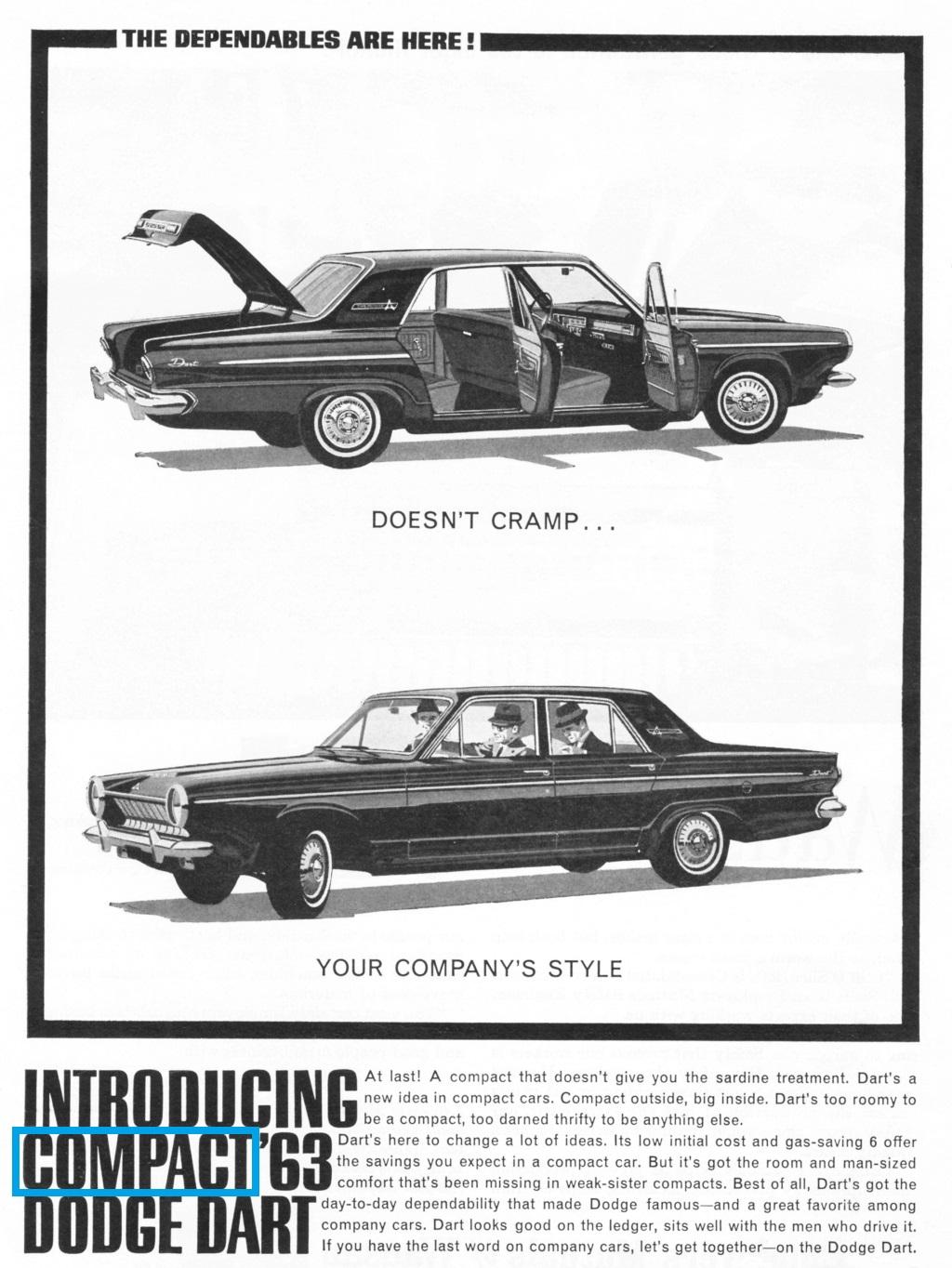classic  1960 - 1975  dodge dart tv ads