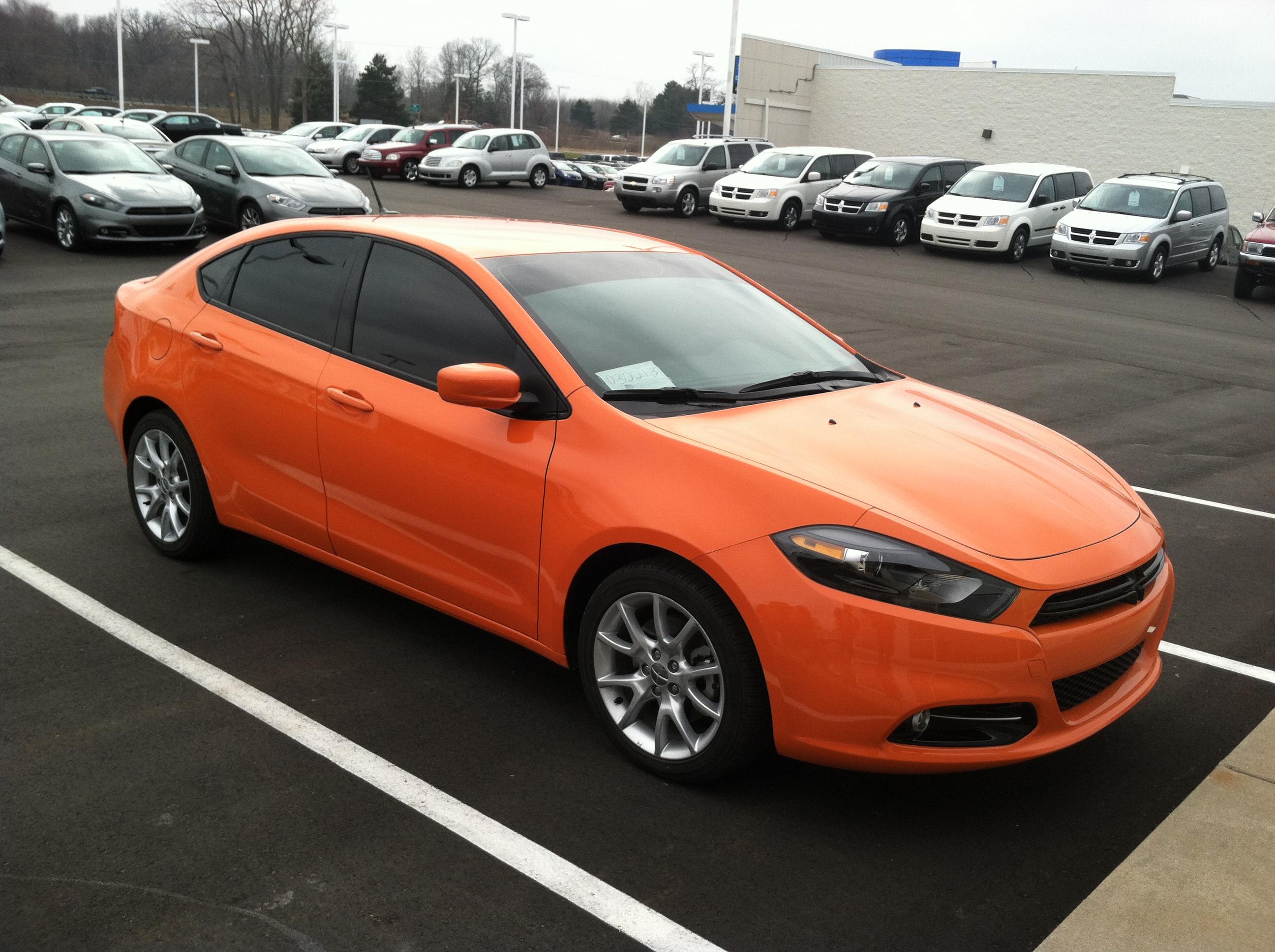 2013 Dodge Dart SXT in Header Orange