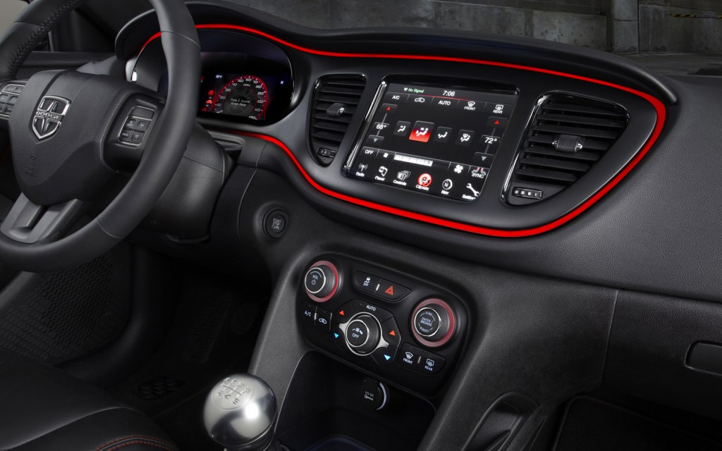 Question About The Center Console Control Layout Dodge Dart Forum