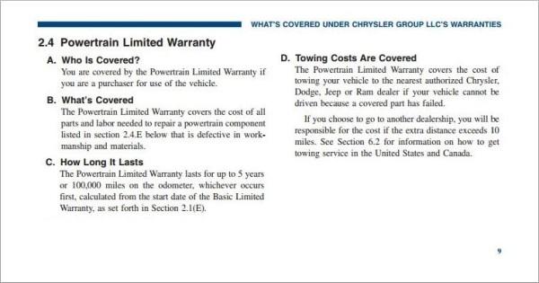 Name:  2013 Dodge Warranty Information Page 9.JPG Views: 974 Size:  61.5 KB