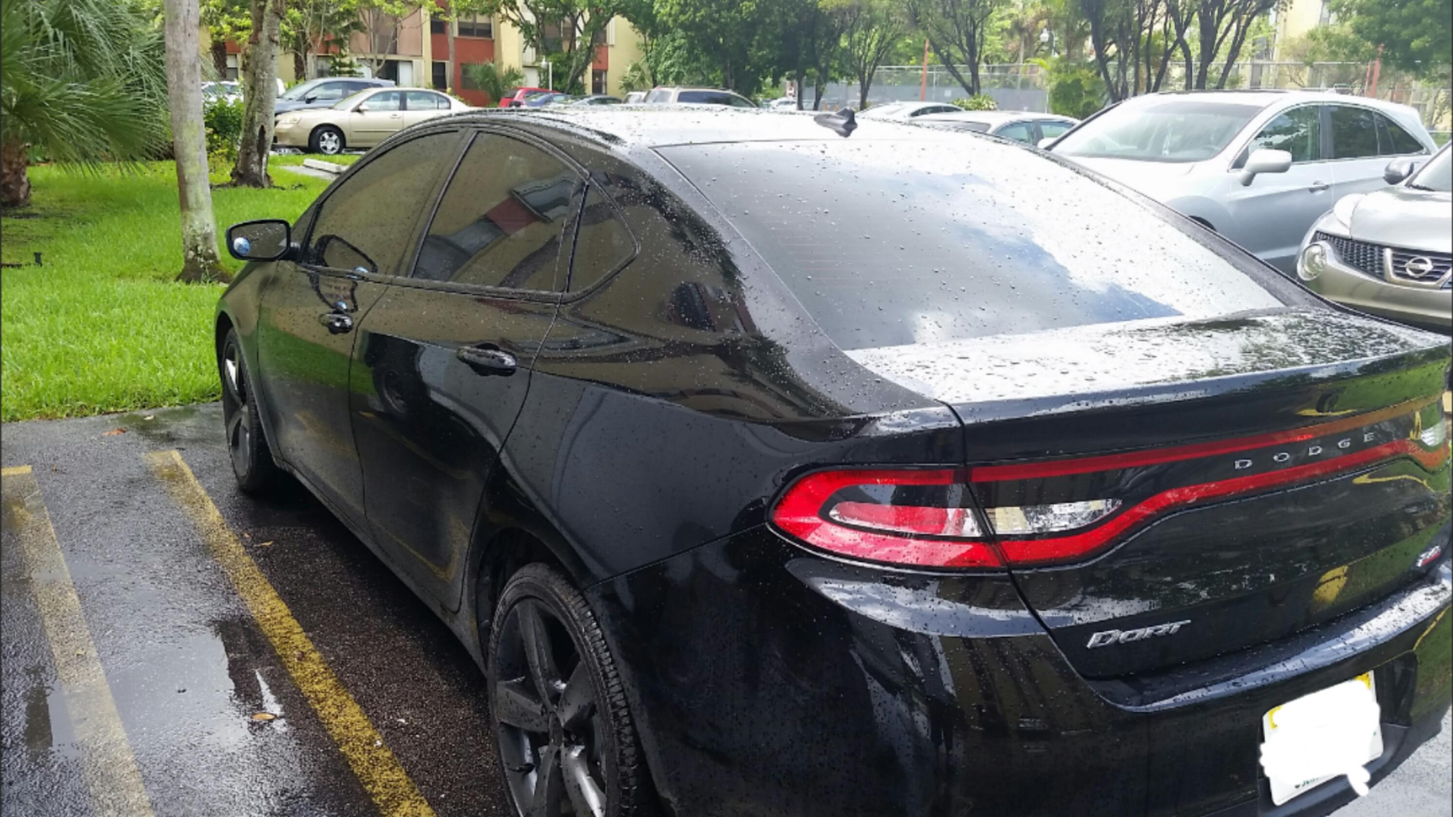 attached images - 2014 Dodge Dart Blacktop