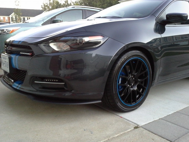 Dodge Dart Tire Size >> Taller Tire Fitment Question