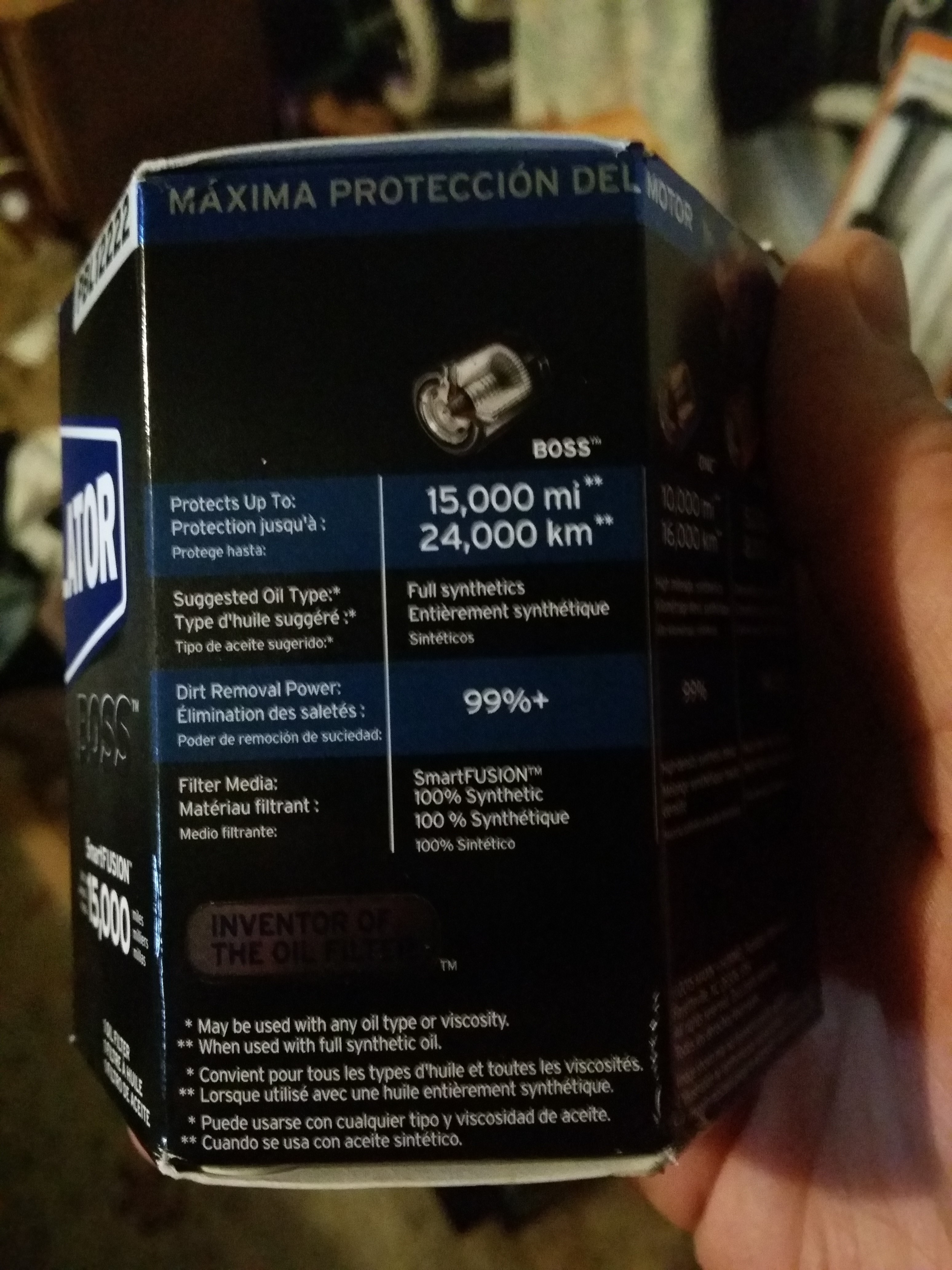 the 2 0 2 4 na dart oil filter list