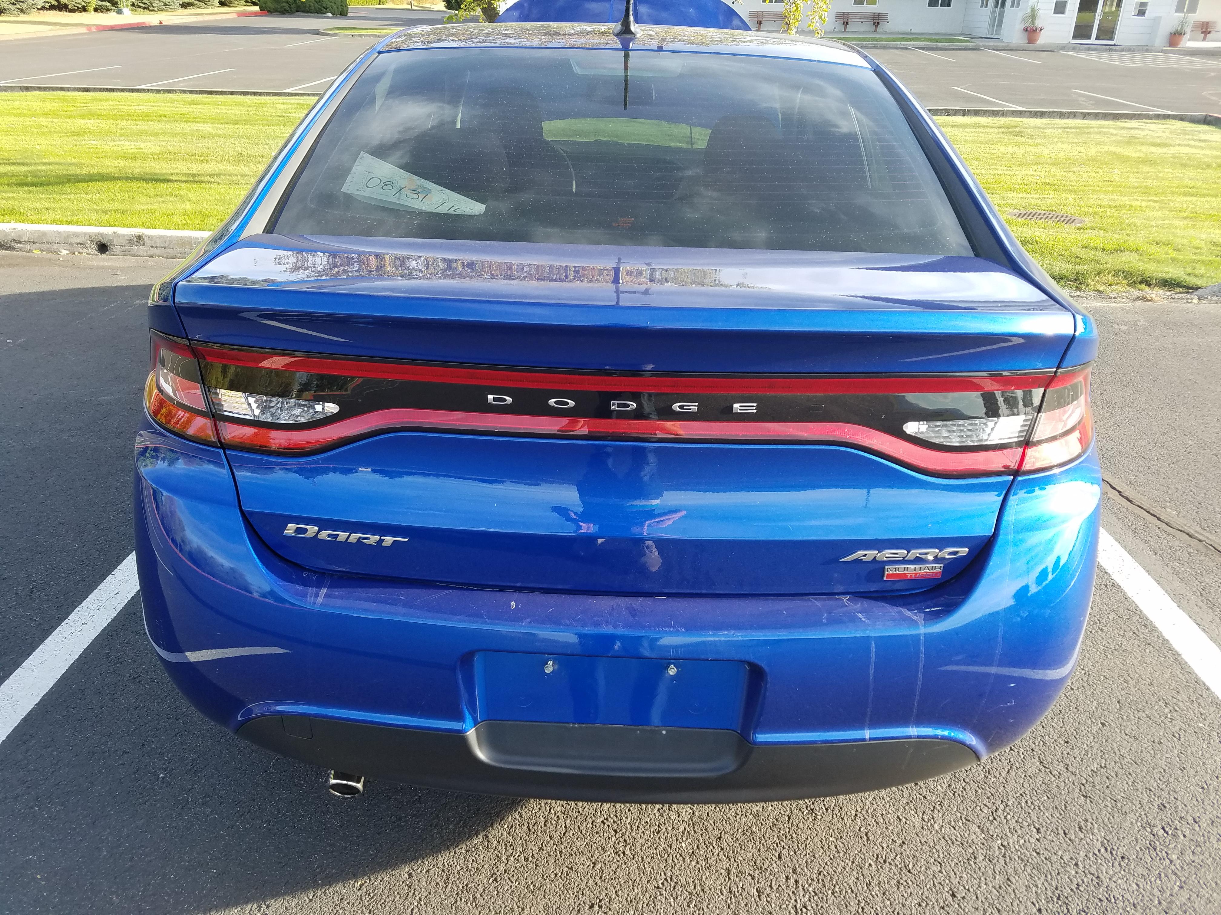 2013 Dodge Dart Aero 1 4l Multiair Turbo
