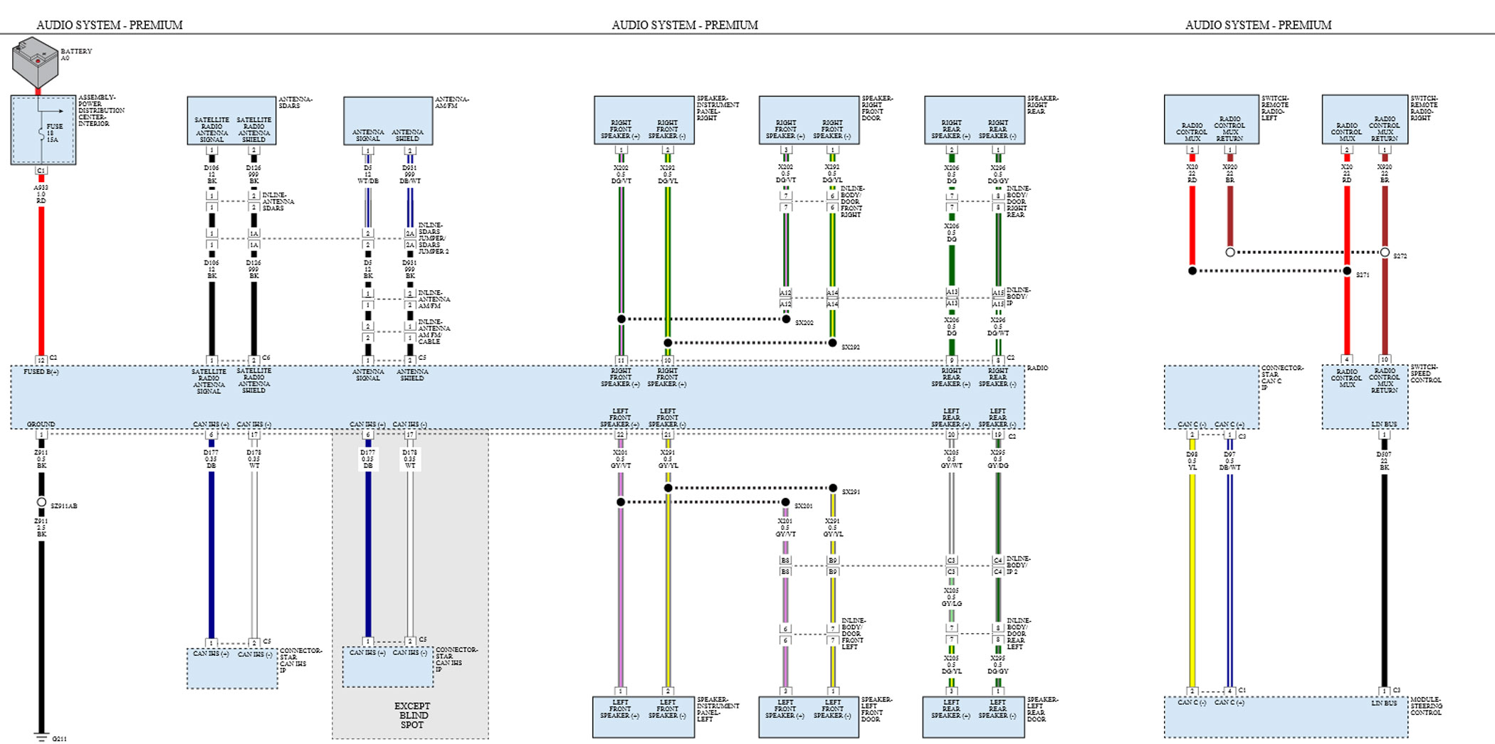 adding lc7i to 8 4 6 speaker system questions rh dodge dart org 2014 dodge dart radio wiring diagram 2015 dodge dart radio wiring diagram