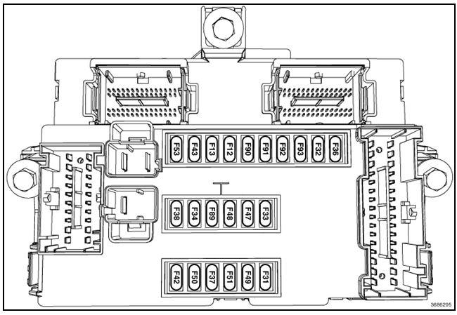 dodge dart interior fuse box diagram