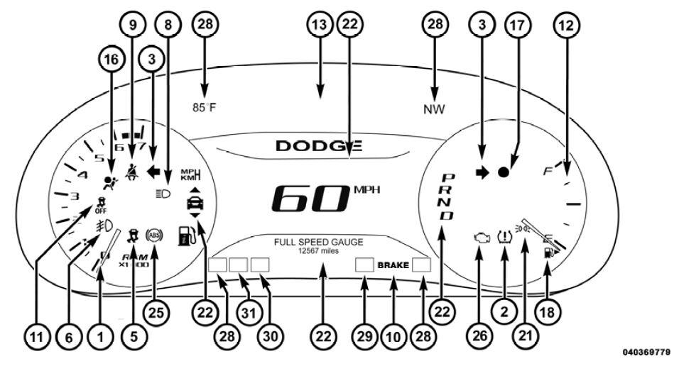 Traction Control Light   Dodge Dart Forum