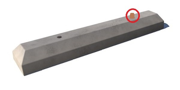 Name:  Concrete Parking Block (with protruding  anchor spike).jpg Views: 1042 Size:  16.5 KB