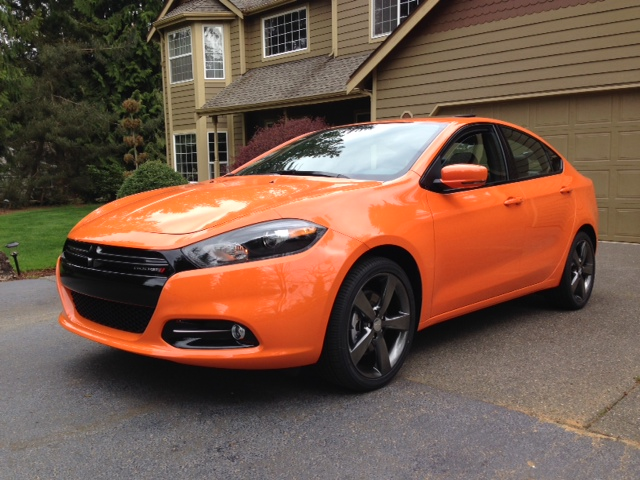 Newbie Fresh Off The Truck Today My New 2014 Dart Gt