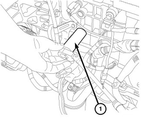 Engine Oil Pressure Sensor Location