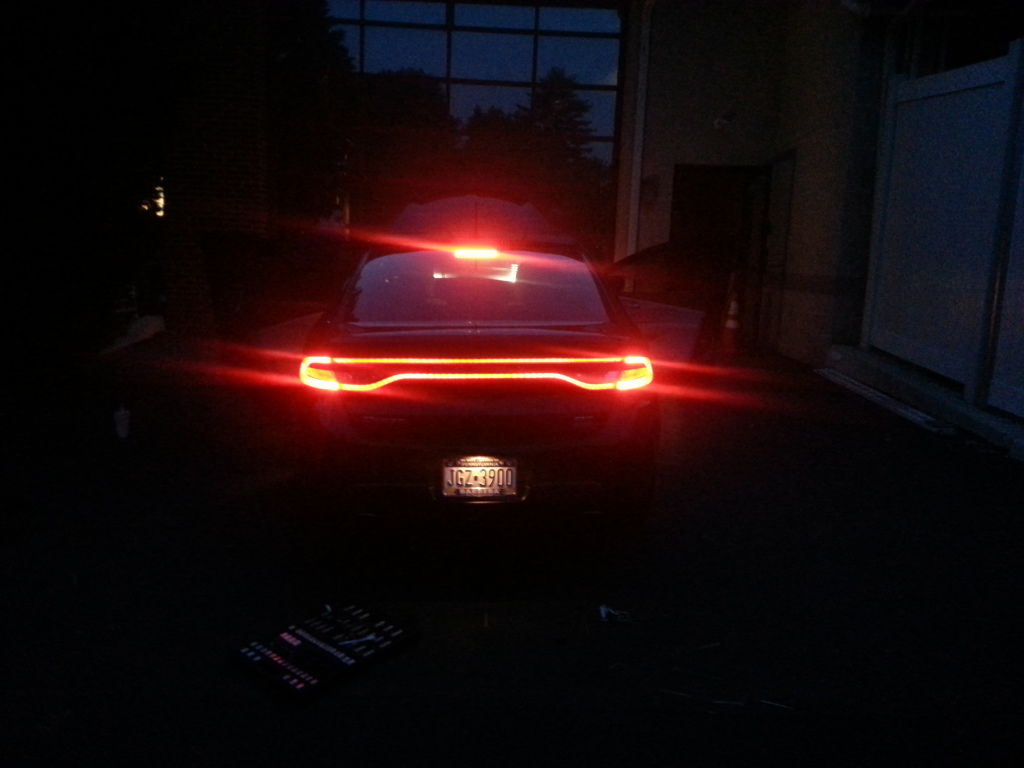 Spray Tint Tail Lights