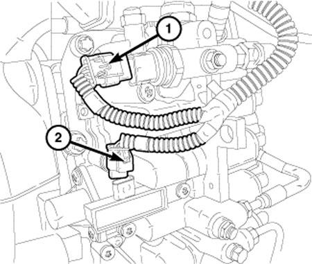 2015 Dodge Ram Camshaft Position Sensor