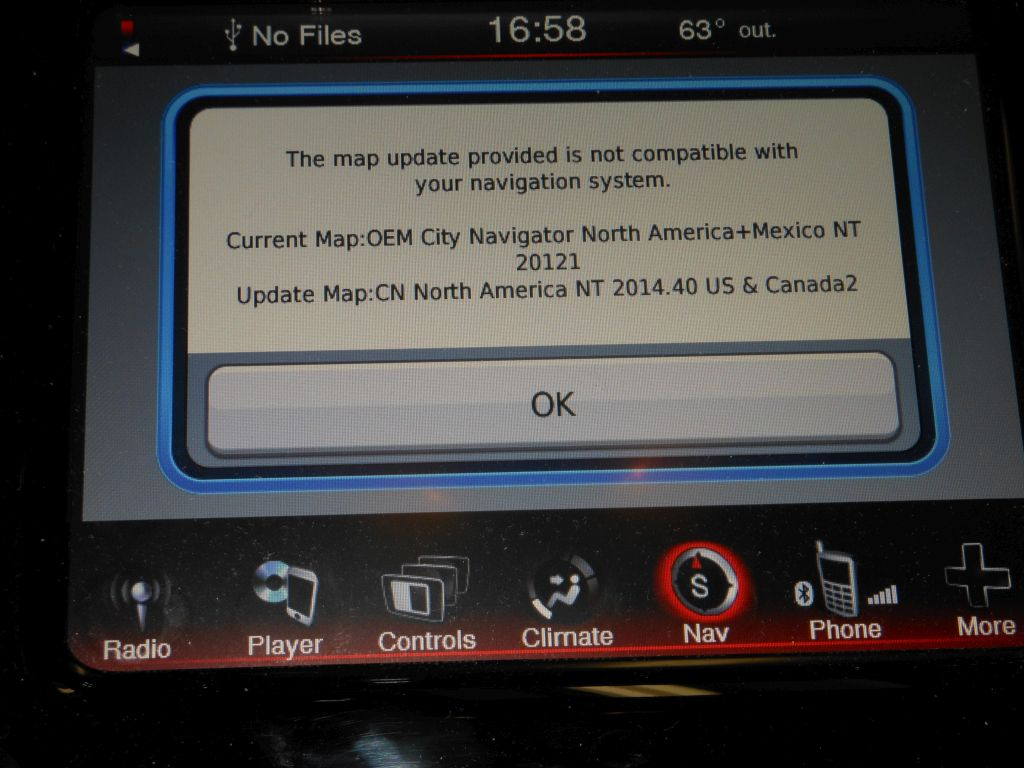HOW TO Update your Garmin Maps in UConnect 84N RB5 Page 2
