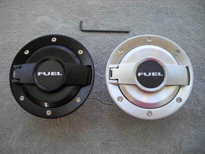 Billet Challenger Style Fuel Door