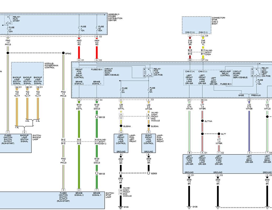 2013 Dodge Dart Fog Lamps Wiring Diagram wiring diagrams schematics