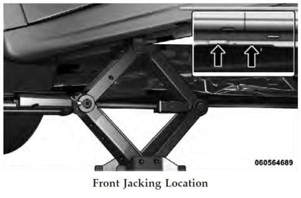 Damaged With Car Jack