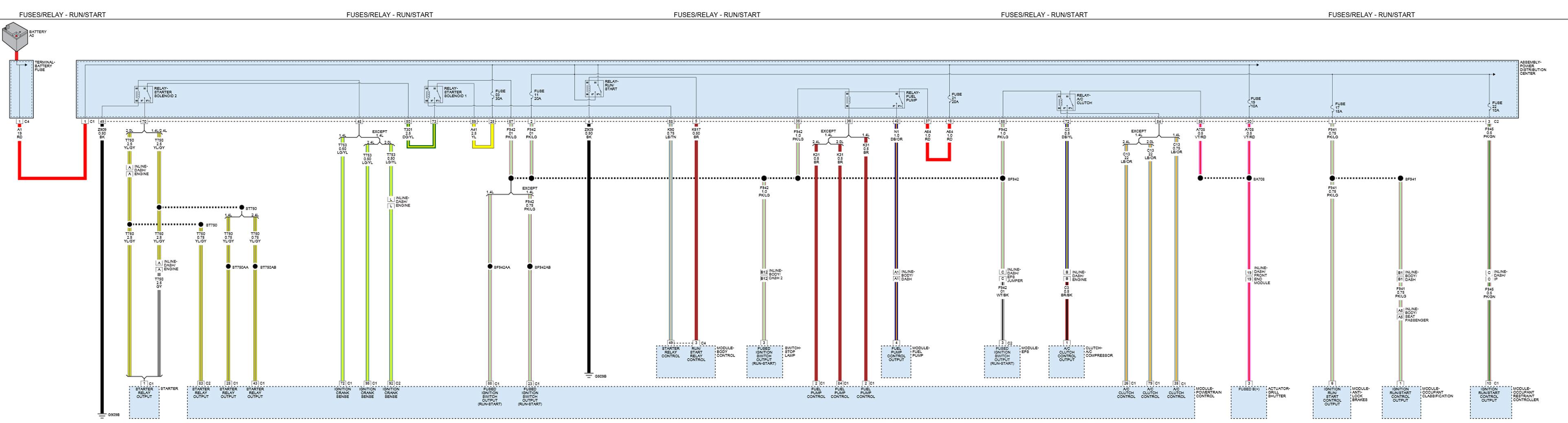 Volvo V40 User Wiring Diagram 2014