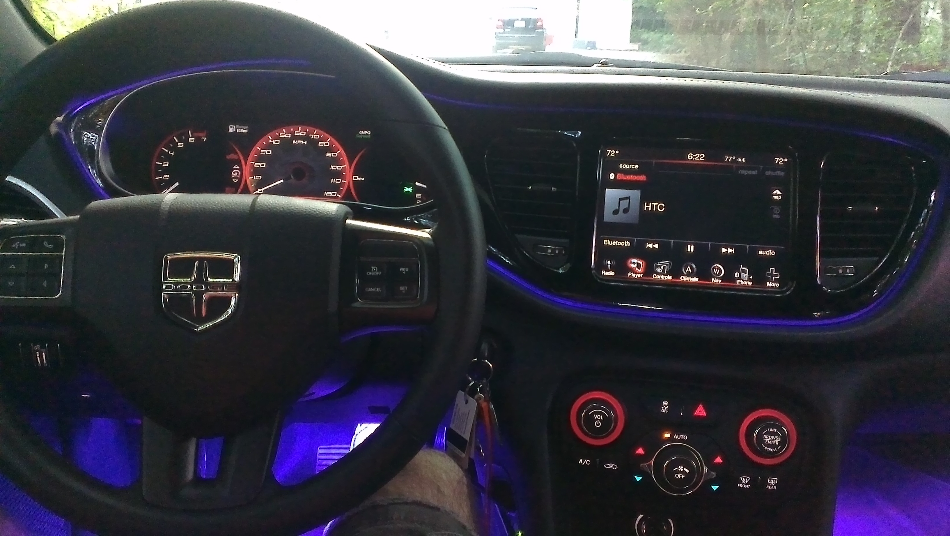 Interior Dashboard Red Light Expand It To More In The Car Dodge Dart Forum
