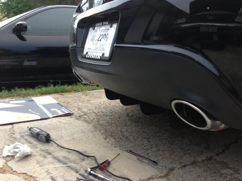 DIY Custom Rear Diffuser