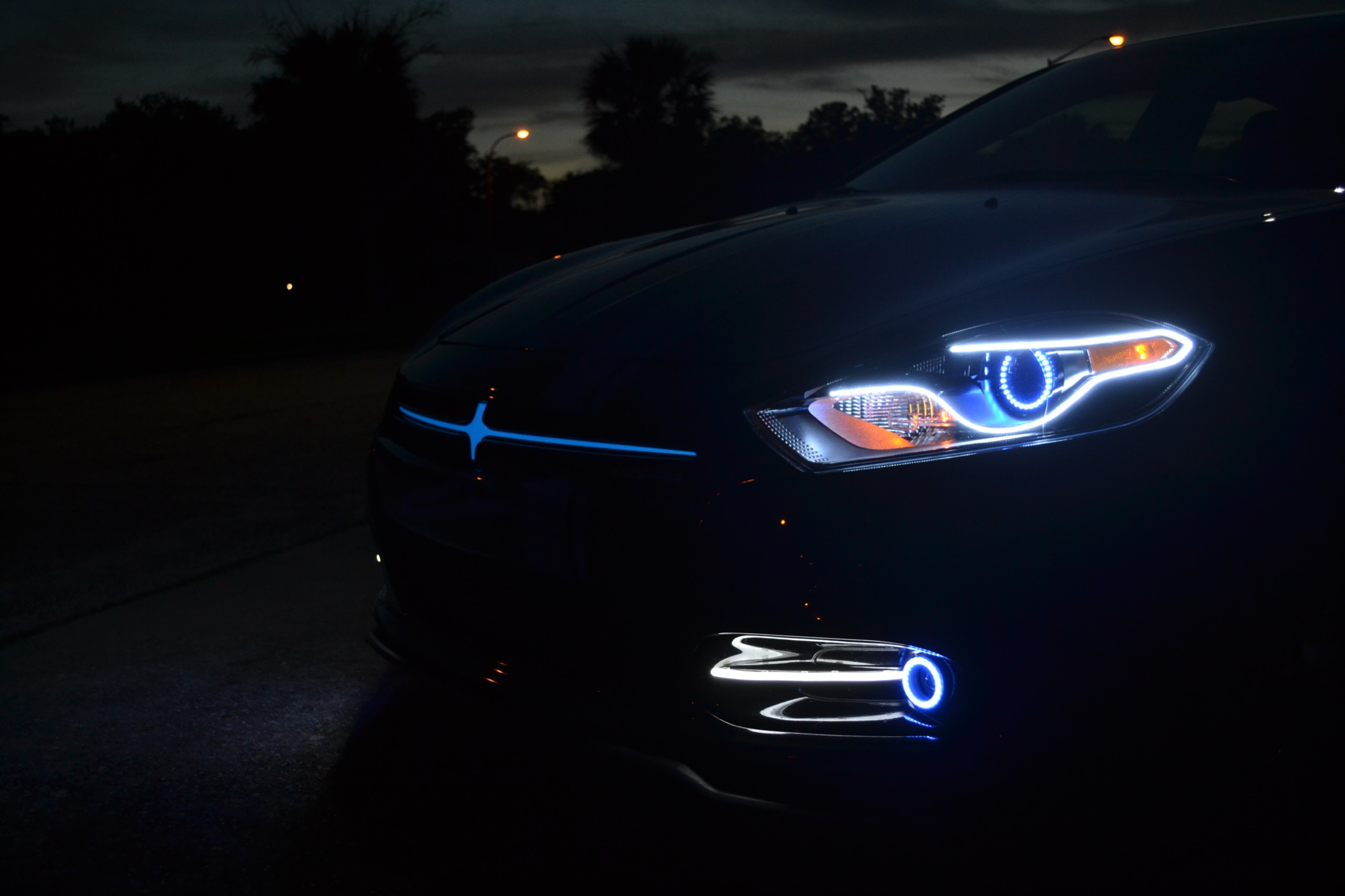 Anyone Do The New Charger Led Headlight Style Mod