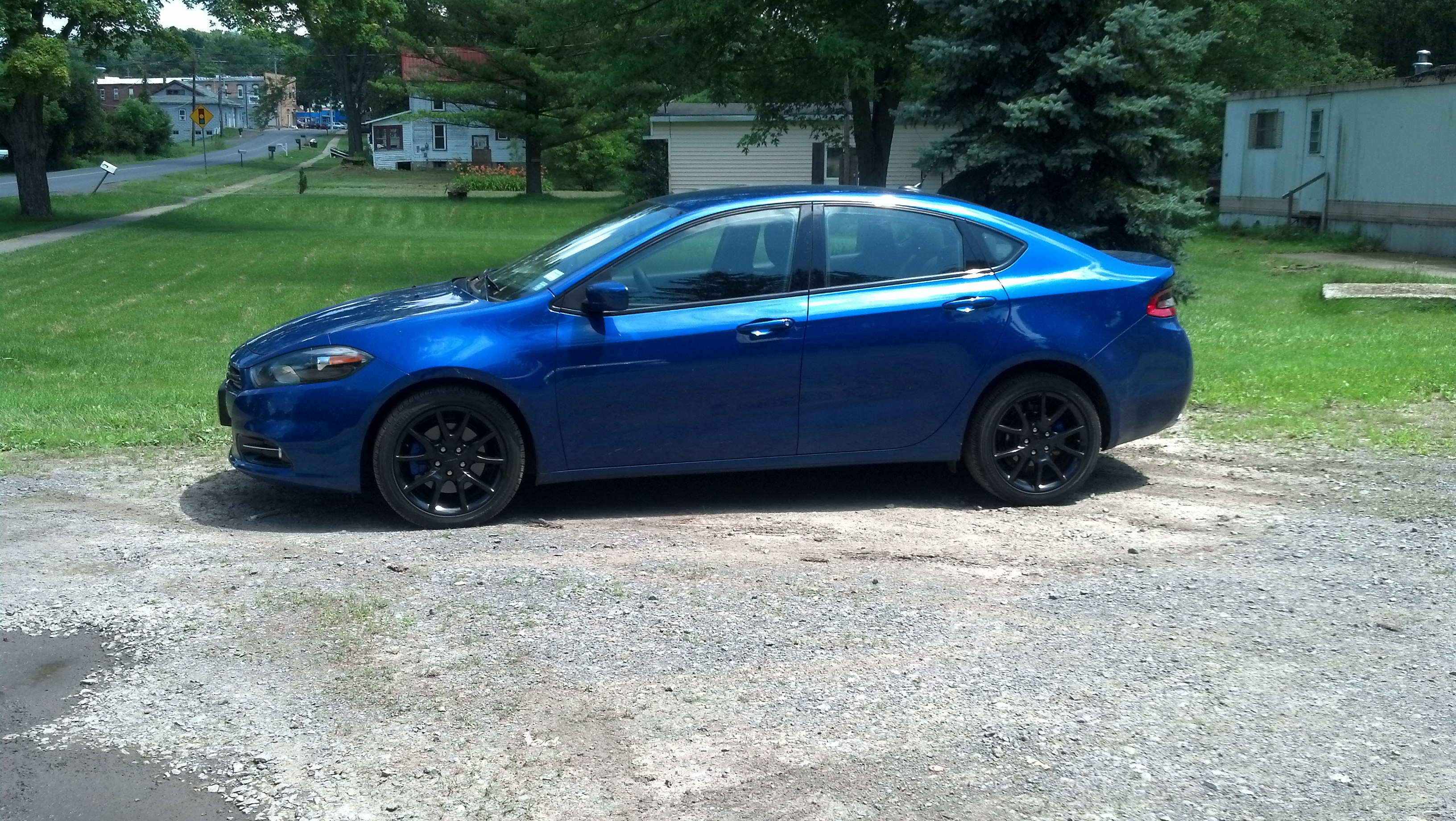 Just Had My Rims Dipped And Calipers Painted Dodge Dart Forum