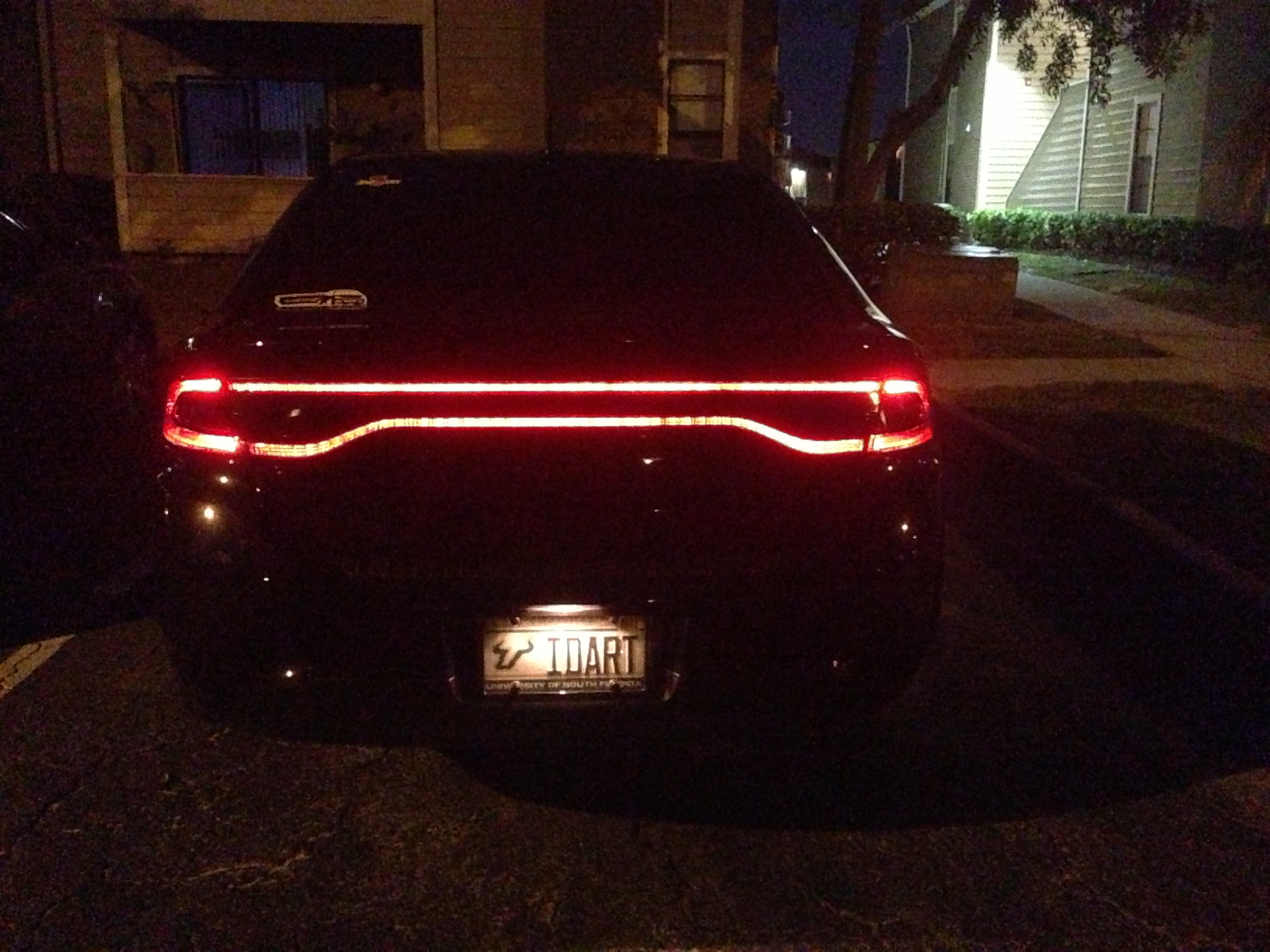 Blacking Out Tail Lights