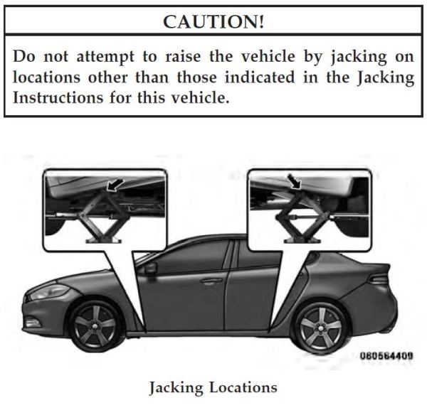 2013 Chevy Cruze Tire Size >> Where to use floor jack and jack stands?