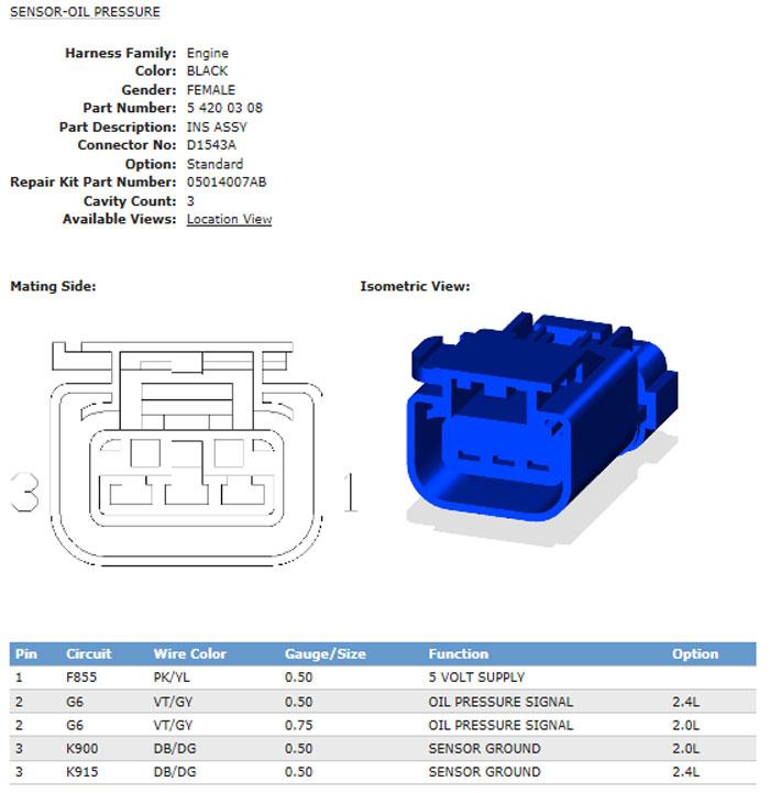 engine code p0520