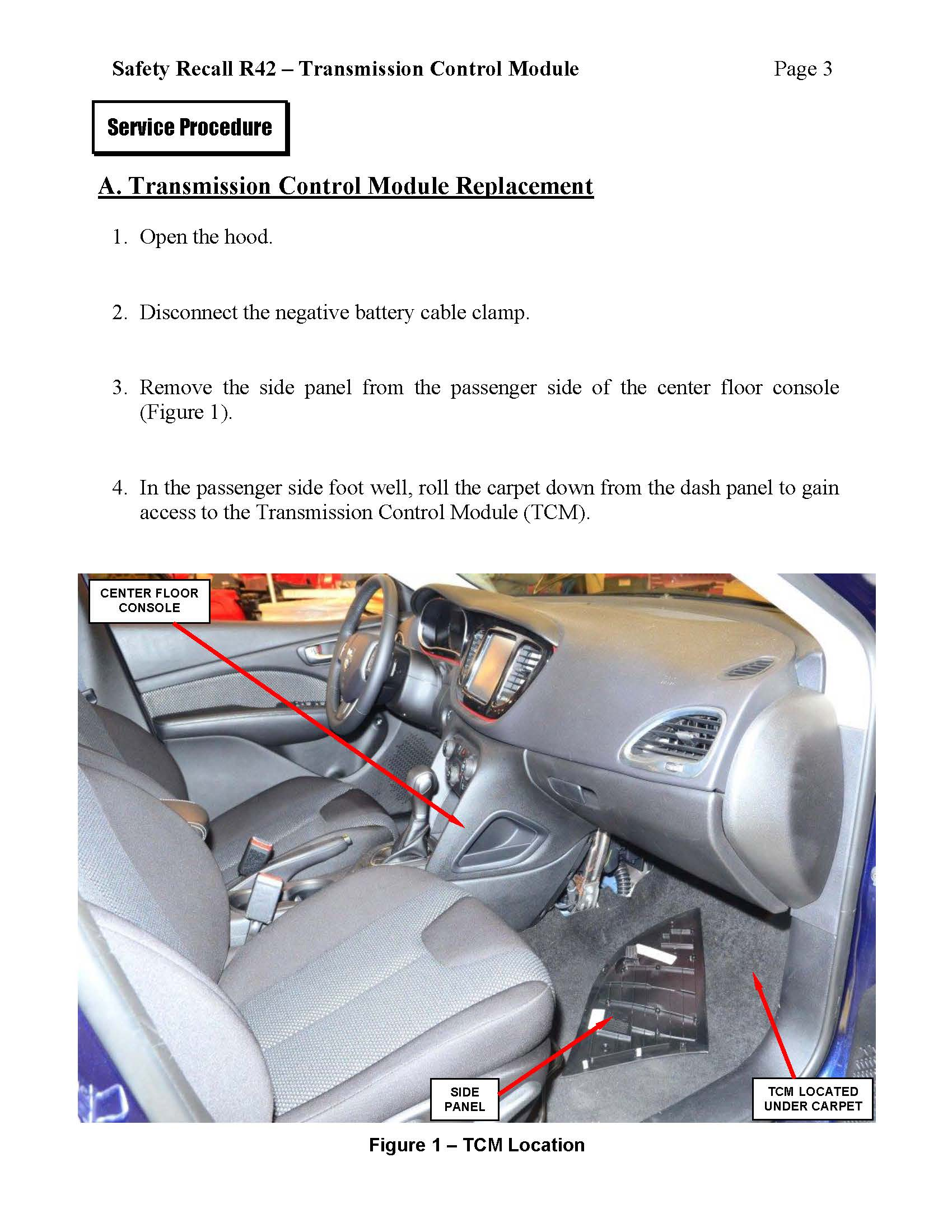 D Safety Recall R Nhtsa V Transmission Control Module R Recall Page on Engine Control Module Recall