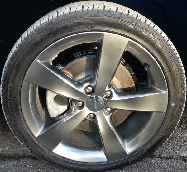 Pro Touring Wheels And Tires >> What tires came on your Dart?