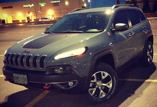Dart's Replacement 2014 Jeep Cherokee Trailhawk
