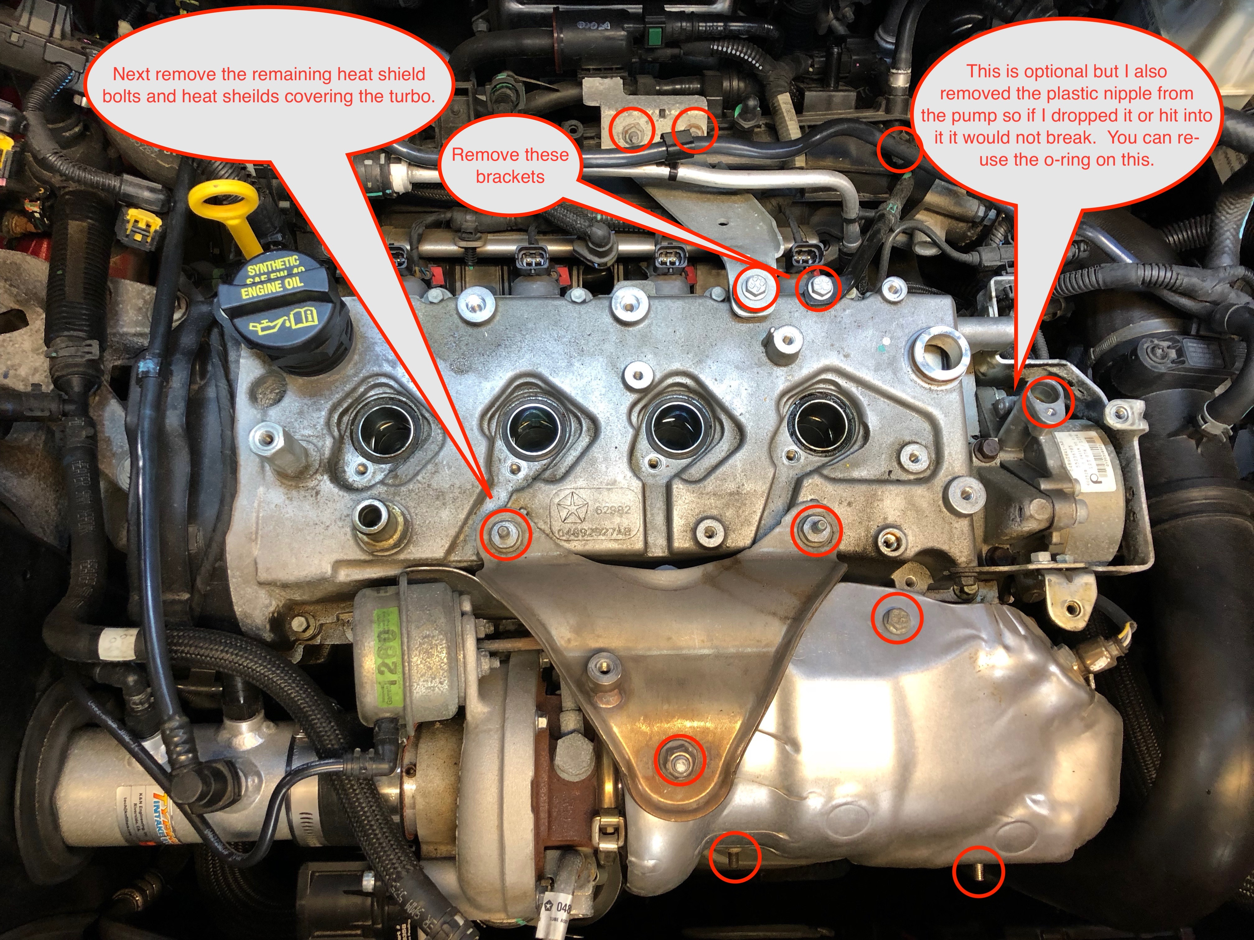 getting ready to replace spark plug well seals...has ...