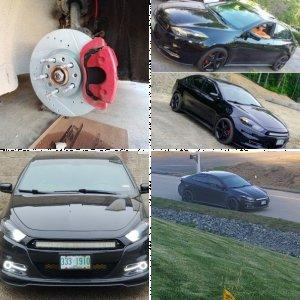 2015 Dodge Dart SXT 2.4l Manual